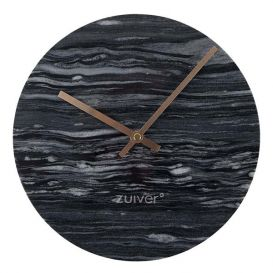 Klok Marble Time grijs