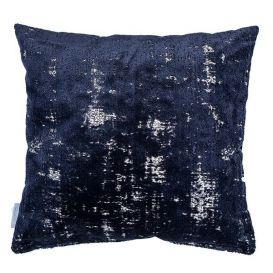 Kussen Sarona nacht blauw