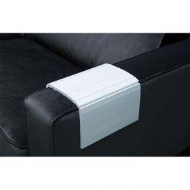 Armleuning flexibel dienblad wit