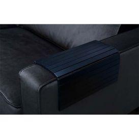 Armleuning flexibel dienblad zwart XL