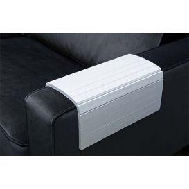 Armleuning flexibel dienblad wit XL