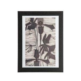 Fotolijst Shift met houtenrand medium
