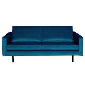 Rodeo bank 2,5-zits velvet blue BePureHome