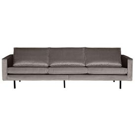 Rodeo bank 3-zits velvet taupe BePureHome