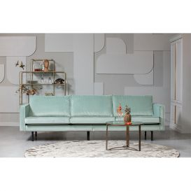 Rodeo bank 3-zits velvet mint BePureHome