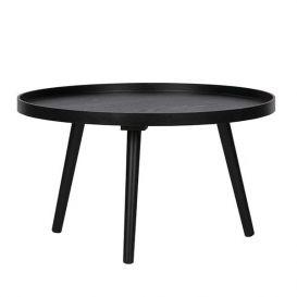 Bijzettafel Mesa zwart hout L ø60cm