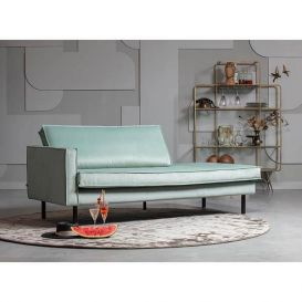 Daybed Rodeo links velvet mint BePureHome