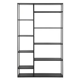 Woood June - Metalen rek June 195 x 120 cm zwart