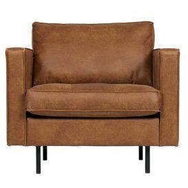 Rodeo fauteuil Classic cognac BePureHome