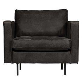 Rodeo fauteuil Classic zwart BePureHome