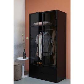 Garderobekast Sivan zwart
