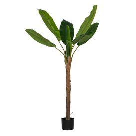 Bananenplant kunstplant groen