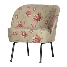 Fauteuil Vogue fluweel rococo agave