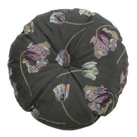 Kussen Vogue rococo aloë fluweel rond 45cm