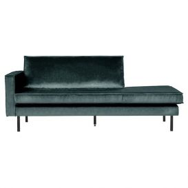 Rodeo daybed links velvet teal BePureHome