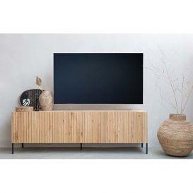Tv-meubel Gravure naturel eiken