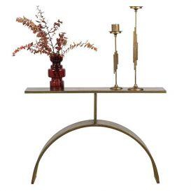 Sidetable Altar antique brass metaal