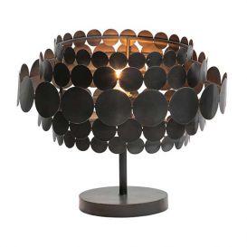 Tafellamp Kaki zwart metaal