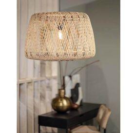 Hanglamp Moza bamboe naturel 70x70cm
