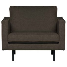 Fauteuil Rodeo Stretched warm grey/brown