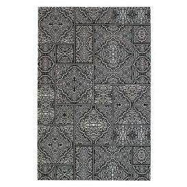 Vloerkleed Renna zwart/wit 155x230cm