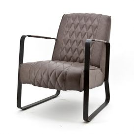 Fauteuil Caro taupe