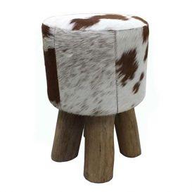 Kruk koe bruin-wit 30x45cm