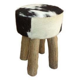 Kruk koe zwart-wit 30x45cm