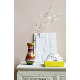 Wand paneel Keramisch mat wit