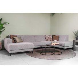 Loungebank Eliza licht grijs