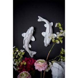 Decoratie Triton marmer wit