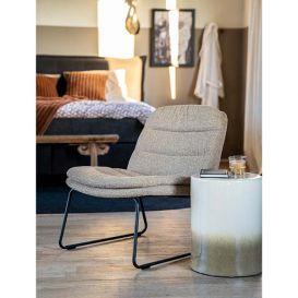 Lounge stoel Bermo beige