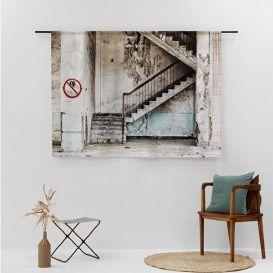 Wandkleed Concrete Stairs large Urban Cotton