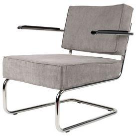 Armstoel Lounge Chair Ridge Rib cool grijs