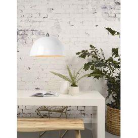 Hanglamp Halong bamboe wit