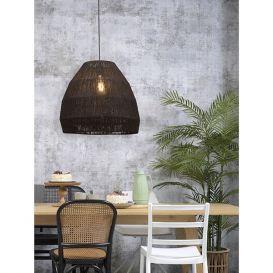 Hanglamp Iguazu jute zwart 60cm