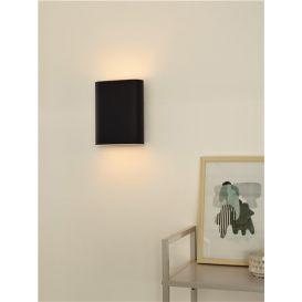 Wandlamp Ovalis Zwart