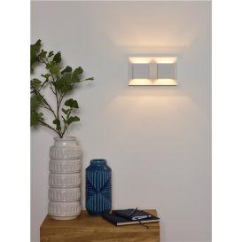 Wandlamp Bok 2-Lichts Wit