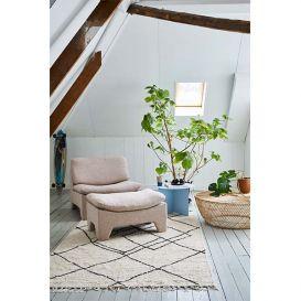 Lounge fauteuil Retro nude melange