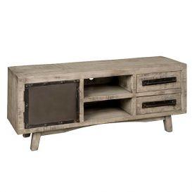 Tv-meubel w/n 1 deur 2 laden 2 open vakken