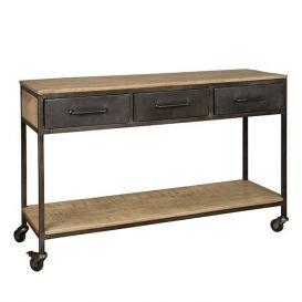 Sidetable w/n 3 laden 1 plank