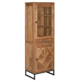 Vitrinekast Mascio 2-deurs 1 lade