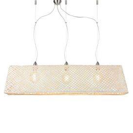Hanglamp Komodo bamboe wit