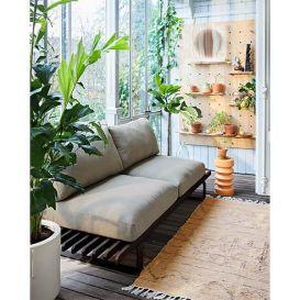 Vloerkleed hand geweven indoor/outdoor naturel 120x180cm
