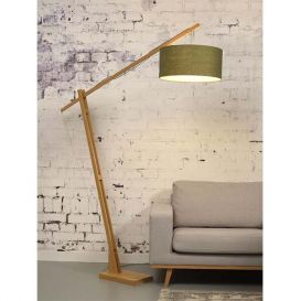Vloerlamp Montblanc bamboe groen