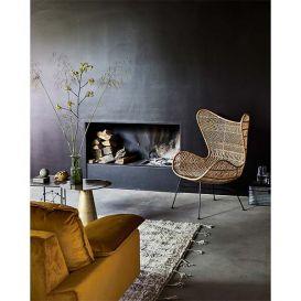 Rotan Egg chair naturel bohemian