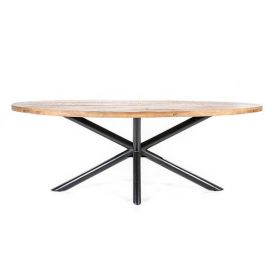 Eettafel Oscar ovaal 200x110cm