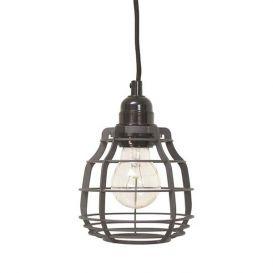 Lamp Lab matt grijs met schakelaar