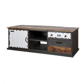 Tv-meubel Vintage 1 deurs 3 laden