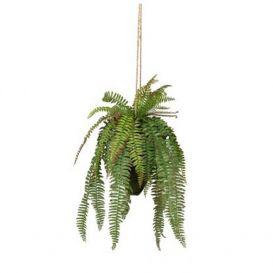 Kunstplant Varen hangplant groen 58cm